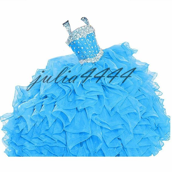 Appliques Beaded Quinceanera Dresses Sweet 15 Floor Length Women's Evening Prom Party Celebrity Red Carpet Catwalk Special Occasion Gowns