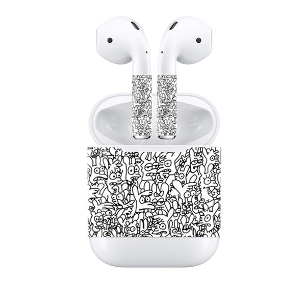 Fanstore New Design Skin Sticker Protective Vinyl Decal Skin Cover for Apple Airpods