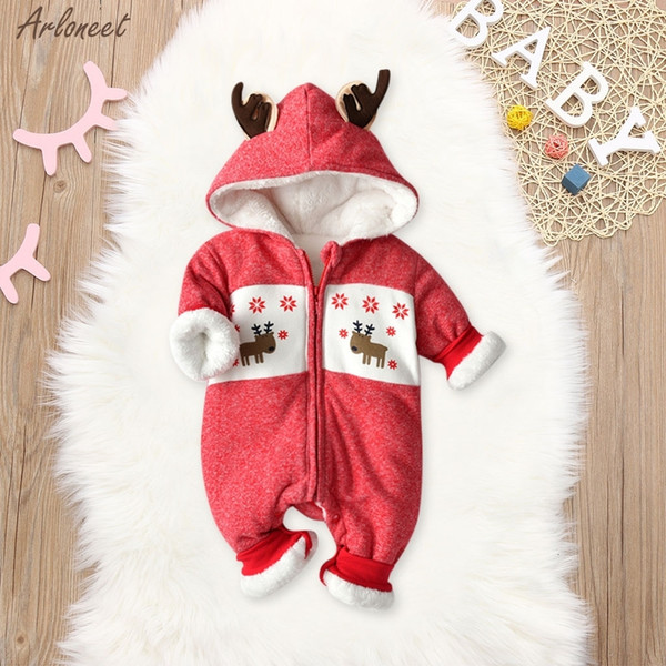 Festive Threads Unisex Baby Christmas Waiting For Santa Pink, 18 Months T-Shirt Romper