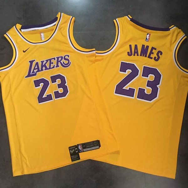buy popular 2dc37 16c70 2019 2019 Los Angeles Basketball Laker 23# LeBron James Jersey Dense AU  Fabric Urban Version Of Black Gold Snake Embroidery Jerseys From Dual,  $22.05 ...