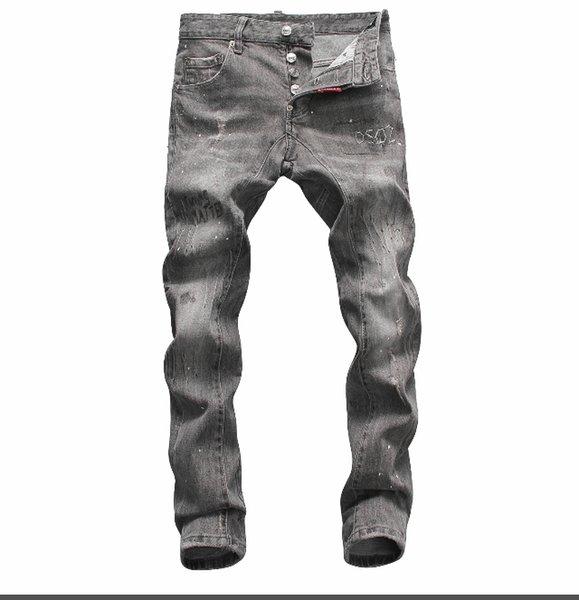 Mode-Sommer 2019 Großhandel Herrenjeans, europäische Denim-Produktion von guter Qualität Herrenbekleidung willkommen auf Größe 28-38: 44-54