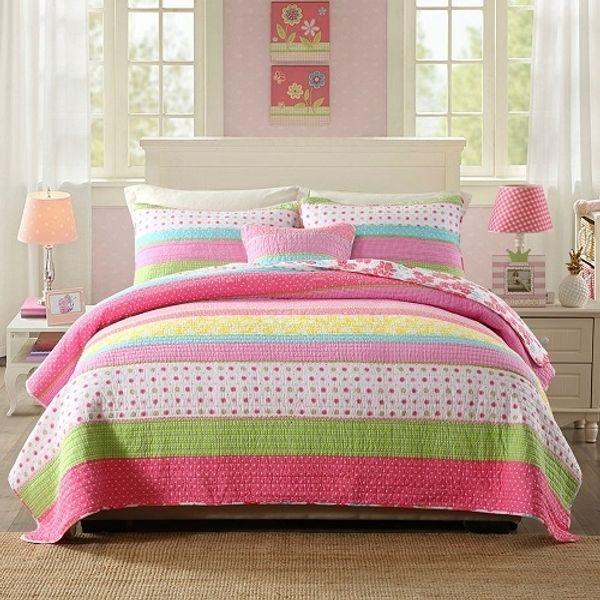 Pink-223x234cm 3pcs set