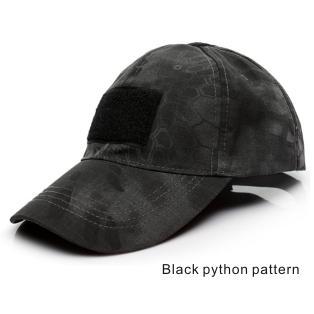 Patrón de python Negro