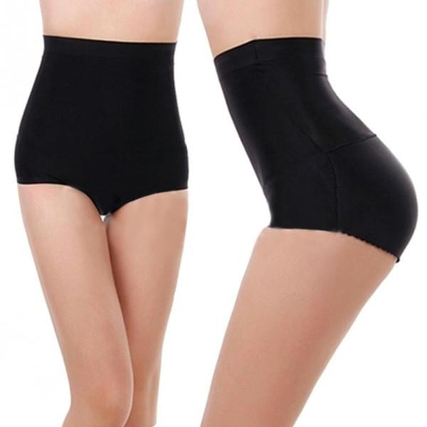 Mulheres de Alta Wasit Ass Falso Hip Up Acolchoado Butt Enhancer Underwear Butt Lift Briefs Calcinha Sexy Push Up Underwear Sem Costura
