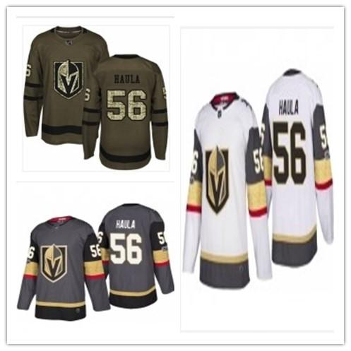 peut être personnalisée Vegas ne importe quel nom un nombre jeunesse 56 Erik Haula Femmes Hommes rouge Bule Hockey Maillots Bleu Rouge chevalier d'or
