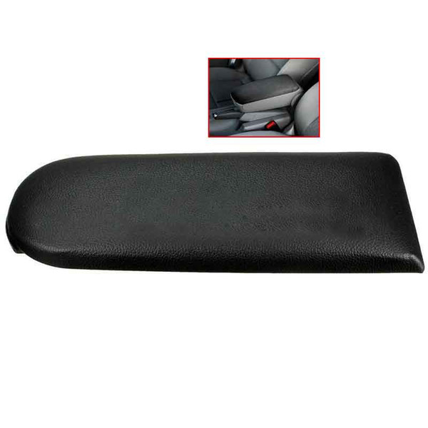 Leatherette Armrest Center Hall Console Cover Cap Lid Latch For VW Jetta Golf MK4 99-04