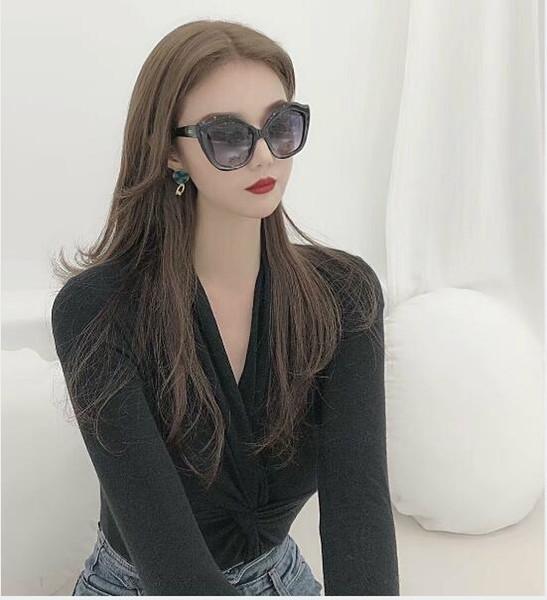 G0842 neue polarisierte sonnenbrille luxus frauen marke mode cat eye sonnenbrille designer sonnenbrille unisex uv-schutz sonnenbrille mit box
