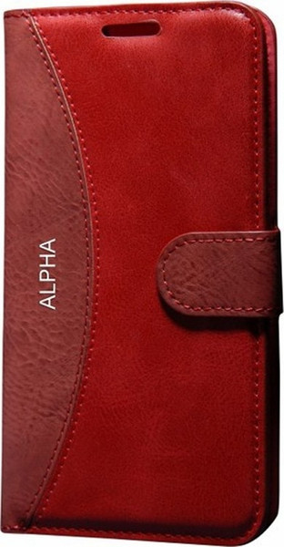 Gpac mmc wallet case for samsung for galaxy alpha by postcard of red glass lid ship from turkey hb-002702633