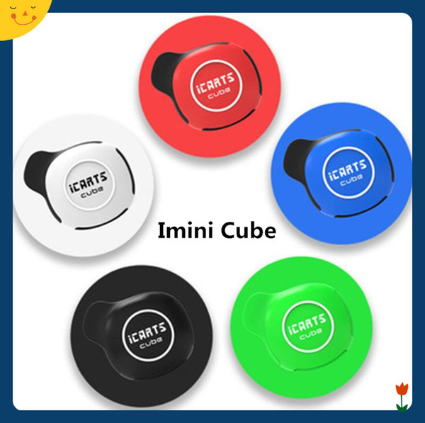 Imini Cube Starter Kit portatile Vape Mod 550mAh 3.0-3,7 V Voltaggio regolabile della batteria 1.0ml Cartuccia completamente nascosta AC1003 Smart carrello autentico