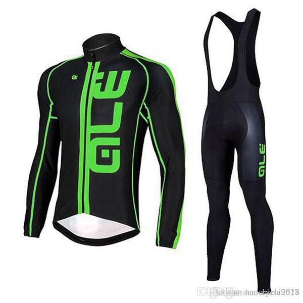 Abbigliamento ciclismo squadra ALE 2017 nuova maglia ciclismo pantaloni anti UV bib set Maillot Ropa ciclismo primavera all'aperto bicicletta MTB asciugatura rapida vestiti
