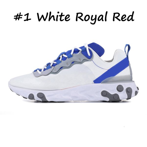 1 WHITE ROYAL RED