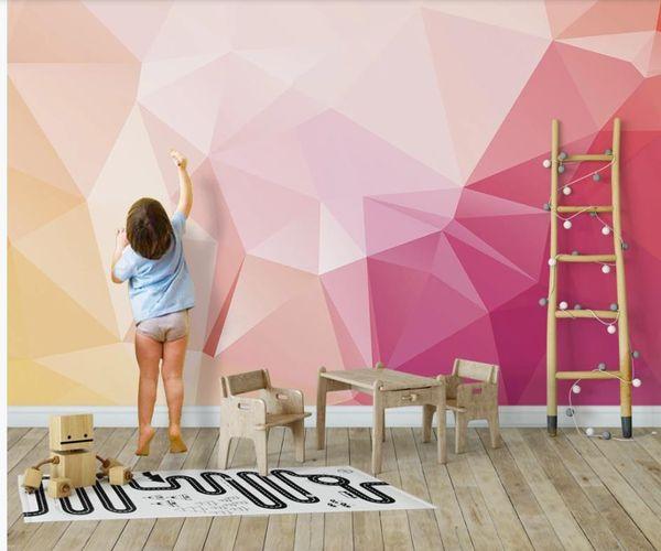 Beautiful Scenery Wallpapers Modern Minimalist Pink Stereo Geometric Background Wall Hd Wallpapers 4 Free Hd Wallpapers A From Wallpaper01 $40 21