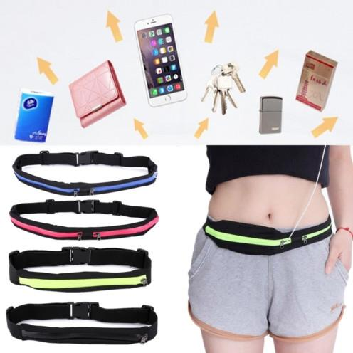 Useful Sports Bag Running Waist Bag Pocket Jogging Portable Waterproof Cycling Bum Outdoor Phone anti-theft Pack Belt Bags #138253