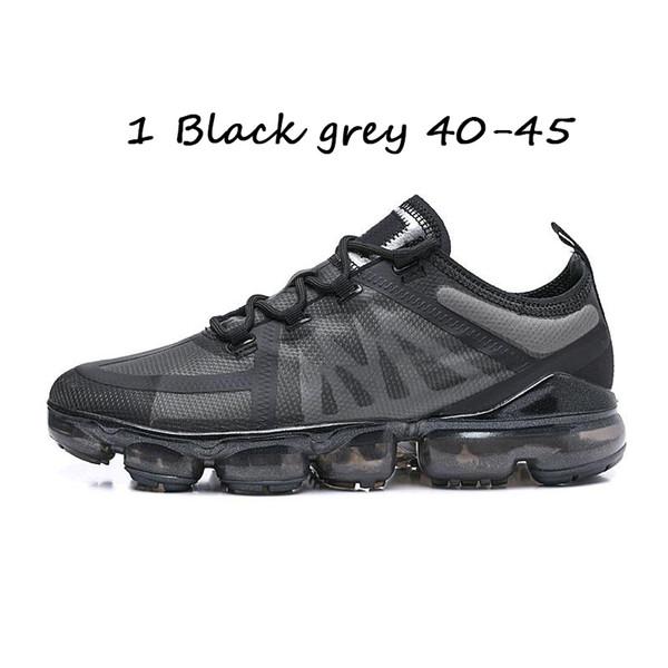 #1 Black grey 40-45