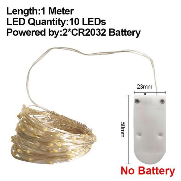 1M CR2032 No Batería