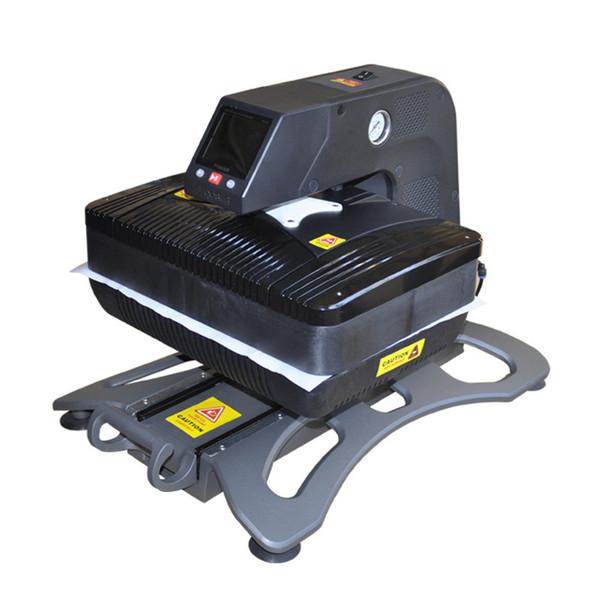ST-420 Sunmeta Auto-Pneumatic 3D Sublimation Press Machine , newest T-shirt printing heat press machine 26*38cm,220V