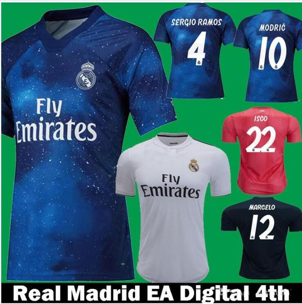 sale retailer 8c34e e48ee 2019 EA Sports 2018 2019 Real Madrid Spain Home White Away 3rd 4th Jerseys  Rugby From Alex2002supershop, $13.2 | DHgate.Com