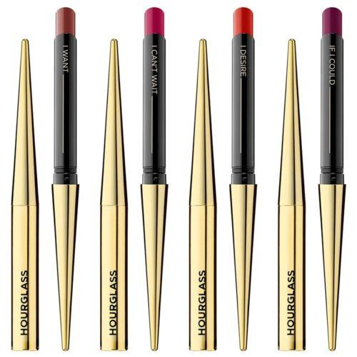 Hourglass Confession Ultra Slim High Intensity Refillable Lipstick 0.9G 6 Shades Long Lasting Matte Creamy Lip Sticks Makeup Free Shipping