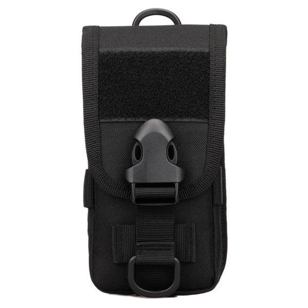 Multi-Função Tactical Waist Bag Outdoor Alpinismo Running Bag Mobile Phone Holster Utility Vest Card Carrier