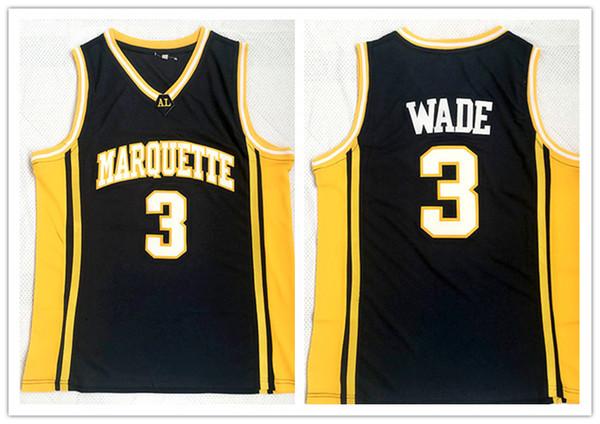 custom made Marquette Dwyane Wade #3