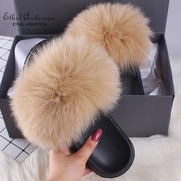Khaki Fox Fur
