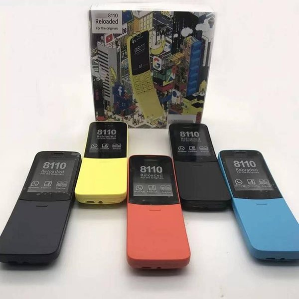 8110,4 frequency, GSM, mobile phone banana, super long standby straight old mobile phone