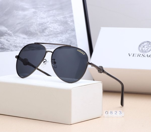 2018 New designer de moda sunglasse quadro piloto Abstrato popular estilo de verão avant-garde top quality uv400 proteção eyewear
