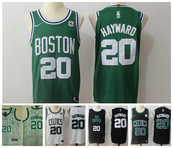 online retailer a6a41 105cc 2018 2019 New Mens 20 Gordon Hayward Boston Celtics Basketball Jerseys  Stitched 2018 Celtics Gordon Hayward City Edition Basketball Jerseys From  ...