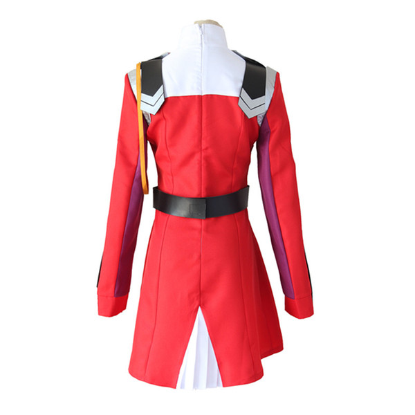 DARLING in the FRANXX Cos HIRO ICHIGO Zero Two MIKU KOKORO School Uniform Cosplay Costume Halloween Suit Outfit