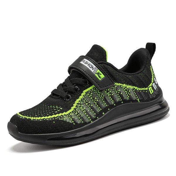 green boys sneakers