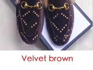 Velvet marrone