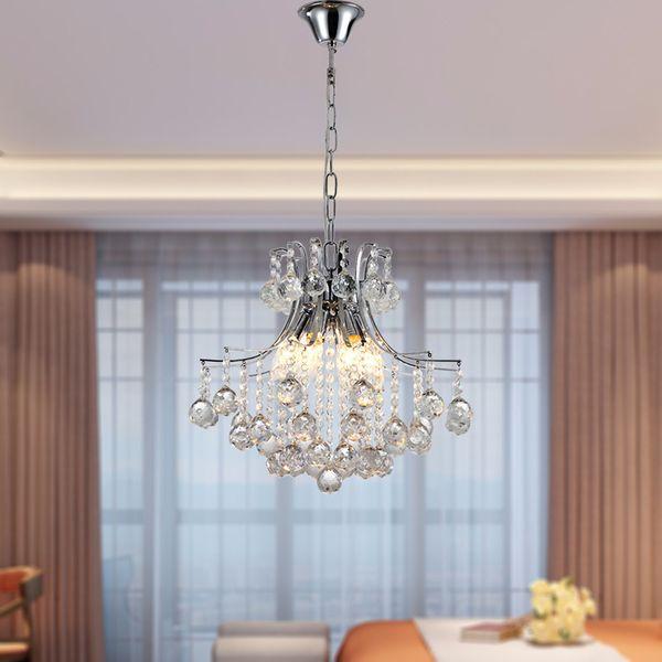online store b2fed eeb07 Crystal Chandelier Modern Ceiling Lamp Living Room Lamp Bedroom Dining Room  Lights Stainless Steel Crystal LED Chandelier Lamps Multi Coloured ...