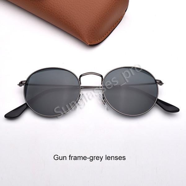 Пистолет каркасно-серые линзы