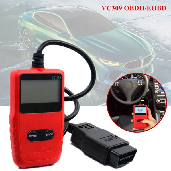 Vehicle Code Reader >> 2019 Newest Vehicle Diagnosis Scanner Tool Vc309 Obdii Eobd Code Reader Auto Scanner For All 1996 And Newer Obd Ii Vehicles From Wondenone 38 14