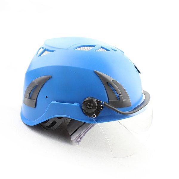 Hohe Qualität ABS Taktische Outdoor Fahrrad Reithelm Motorrad Arbeitssicherheit Schutzhelm mit Wind Objektiv Visier
