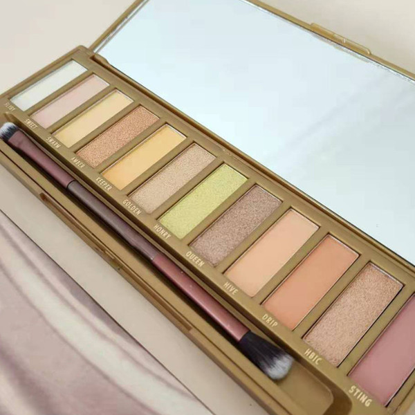 best selling 2020 New Arrival Honey Eyeshadow Palette 12 Colors Eye Shadow Palette Honey High Quality Eyeshadow Palette