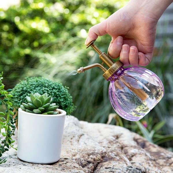 1 Stück Kunststoff Gießflasche für Zuhause 350 ml Gießkanne Wasserflasche Sukkulenten Blume Bewässerung Werkzeuge 3 Art Farbe
