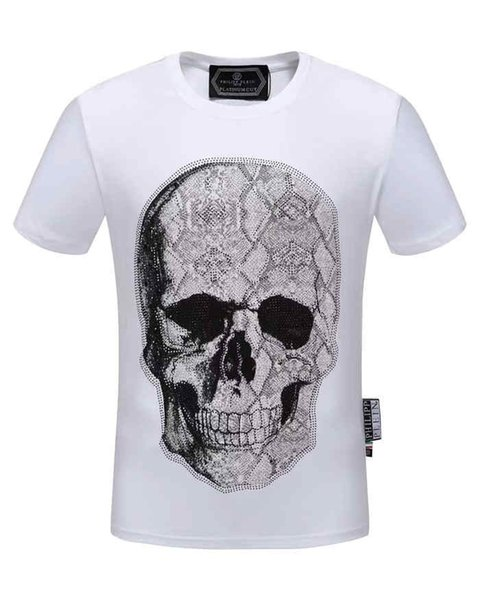 2019 homens novos de alta qualidade de algodão mercerizado de verão de manga curta T-shirt 72 #