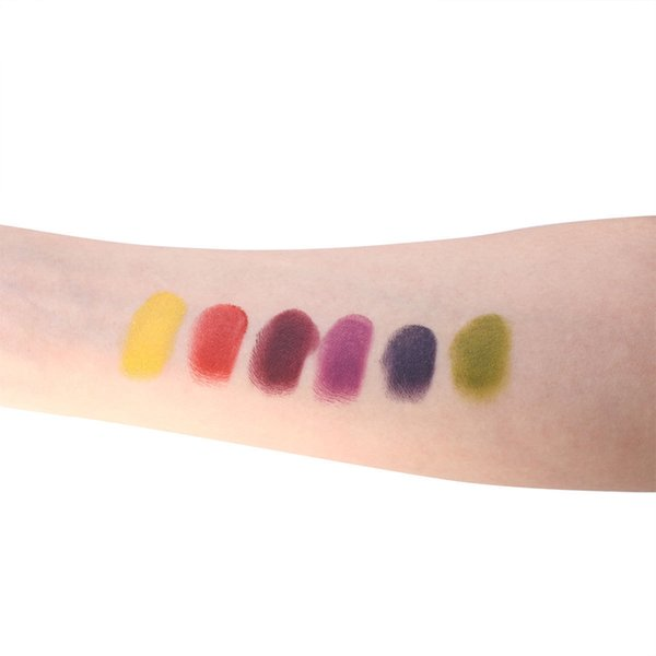 NEW Face Body Paint Pigment Oil Painting 6 Colors Art Make Up Tools for Halloween Party