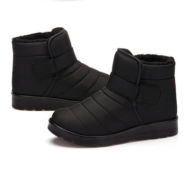 Winter 2020 Smc.2019 2020 Winter Released Whole Sale Warm Snow Boots For Men And Women Couples Plus Fluffy Waterproof Cotton Shoes Size 35 46 From Appstar 83 42