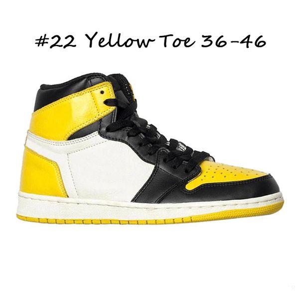 # 22 Toe jaune 36-46