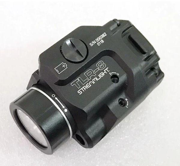 TLR Kompaktes LED-Licht Mit Rotem Laservisier Für Pistolenjagd G schloss 1 8 Laser Taschenlampe Fit Hk USP CZ