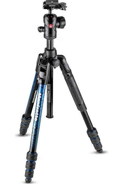 Manfrotto MKBFRTA4BL-BH Manfrotto Tripod Kit Blue Befrei ADV