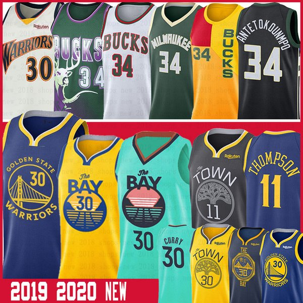 Стивен Карри NCAA Men Thompson 11 Klay Яннис 34 Antetokounmpo Ray 34 Аллен колледжа Баскетбол Трикотажные изделия