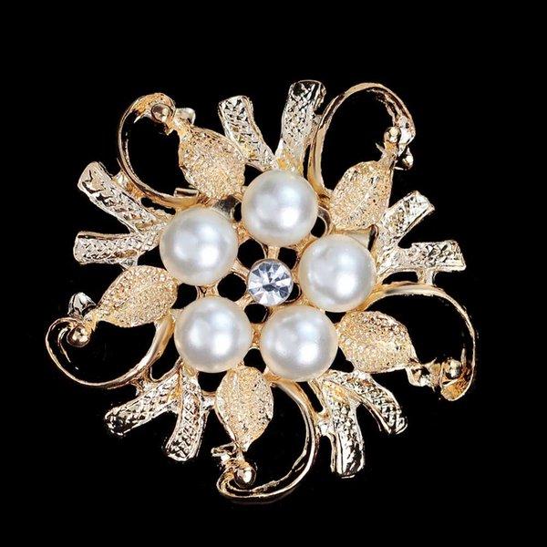 Golden white pearl