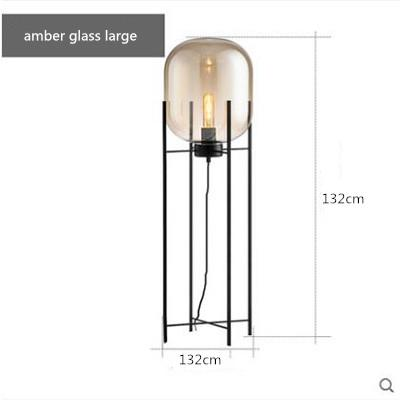 amber glass H132CM