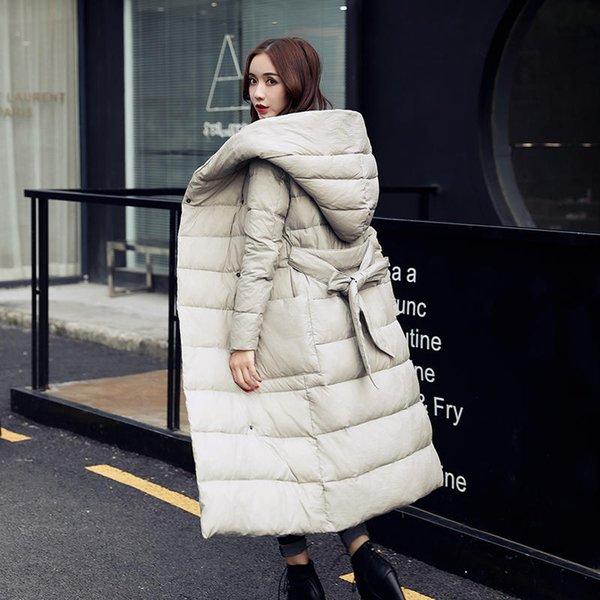 Hiver Veste Manteau chaud Femmes Parkas lacent Épaissir coton matelassé hiver Veste à capuche Parka Pardessus C5799