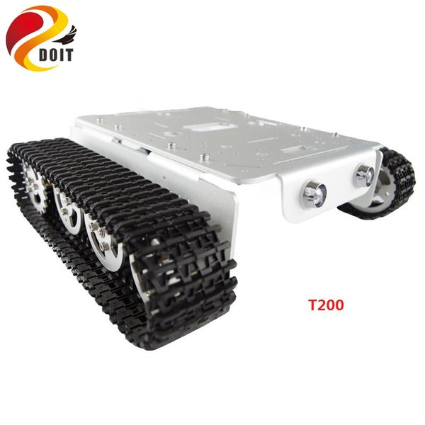 best selling RC Robot Tank Car Chassis Crawler for arduino Tracked Caterpillar Track Chain Vehicle Mobile Platform Tractor DIY RC Toy