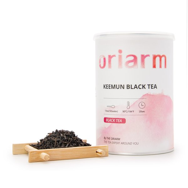 Chinese Keemun Black Tea Kung Fu Tin 200g ,Organic Qi Men Hong Cha,Qi Hong Chinese Tea Free Shipping