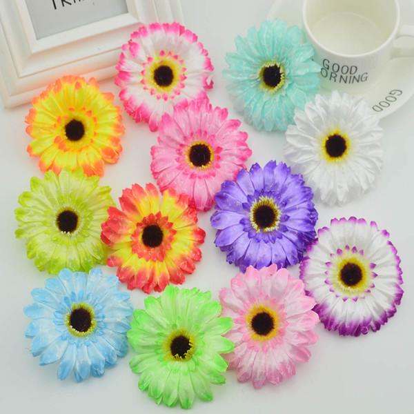 100pcs Silk gerbera stamen for home accessories wedding decora scrapbooking fake flowers diy wreath cheap artificial flowers
